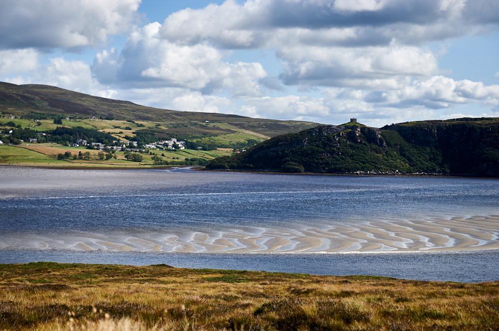 A roundtrip along the Kyle of Tongue on Scotlands North Coast.