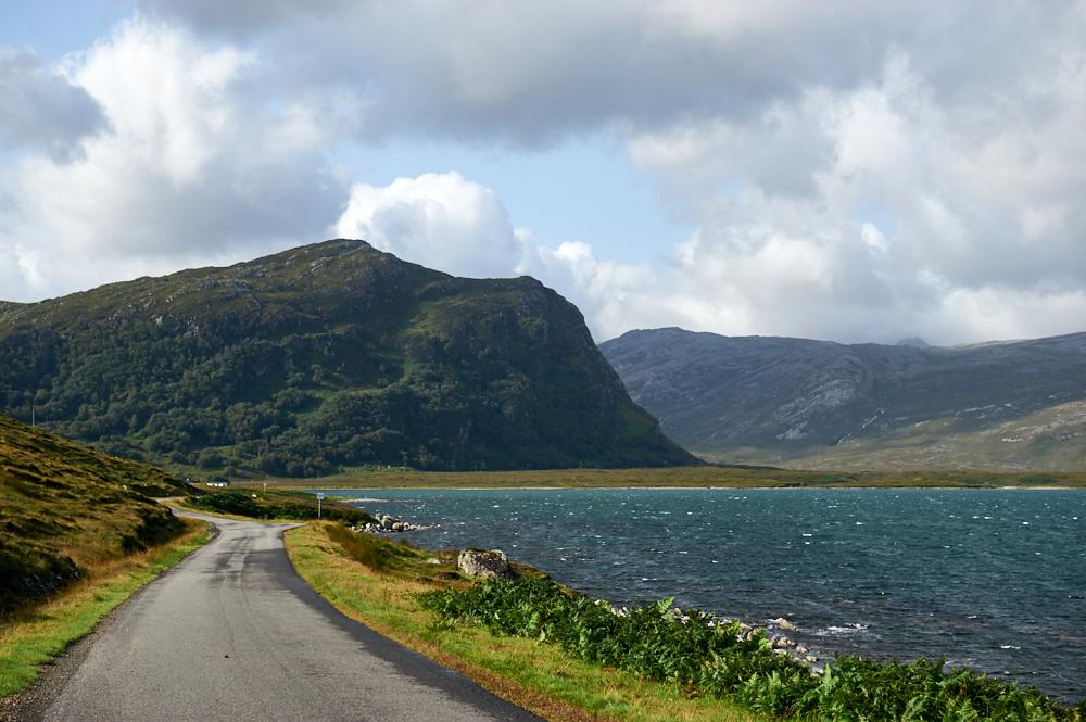 Roadtrip on the NC500 in Scotland around Loch Eriboll.