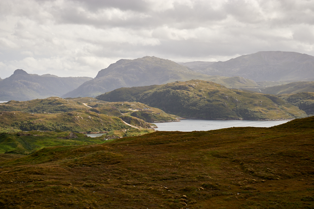 A view of the stunning Scittish gem Assynt and Lochinver in North-West Scotland.