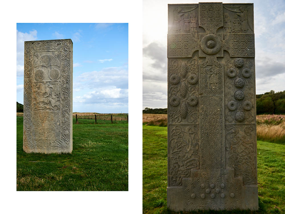 """The hidden chapel of """"our lady"""" and a stunning pictish cross and a beautiful walk, the hilton of cadboll!"""