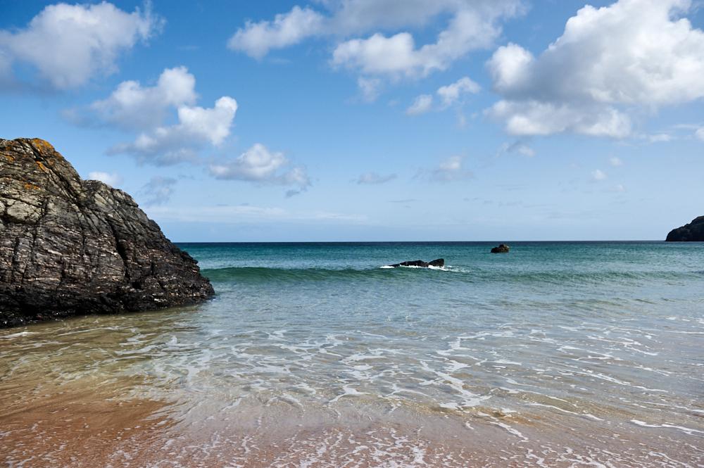 Sangomore Beach near Durness gives you a Caribbean feeling in Scotland!