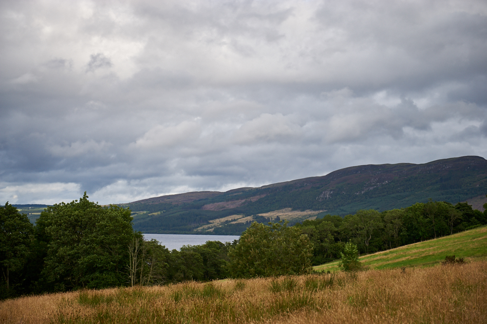 Taking a wee walk from Drumnadrochit to Loch Ness and Urquart Castle-