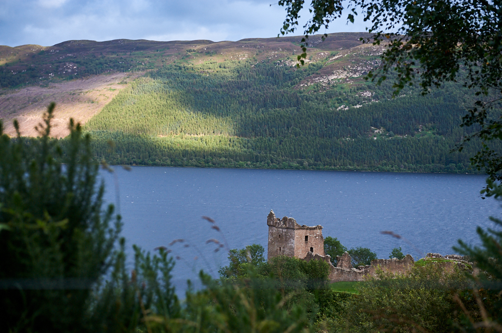 Situated at Loch Ness Urquhart Castle must be the envy of romantic ruins the world over