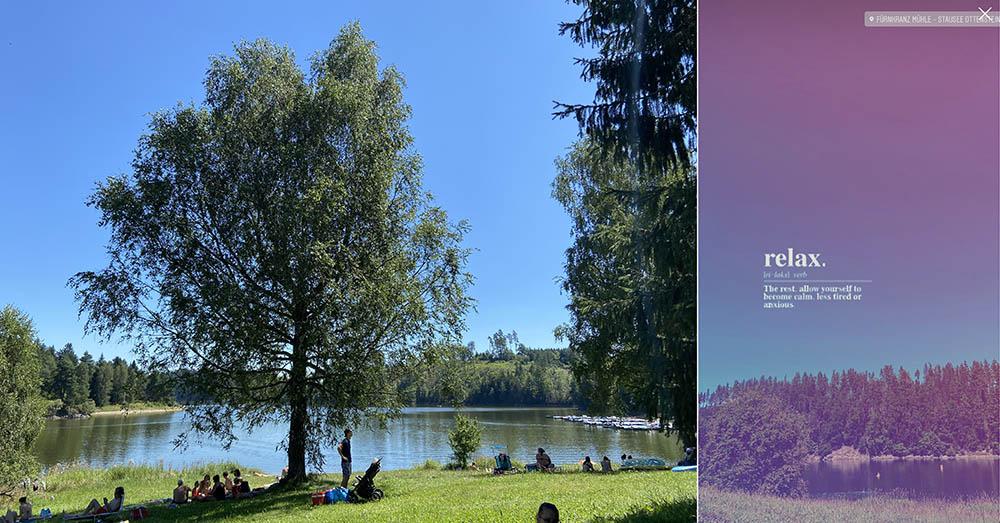 stausee ottenstein, kamp, see, niederösterreich, lake, swimming, sommerfrische, austria
