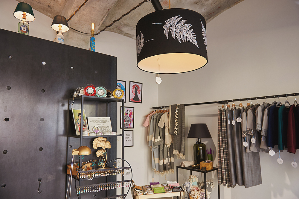 A conceptstore by and for Austrian Designers in Vienna.