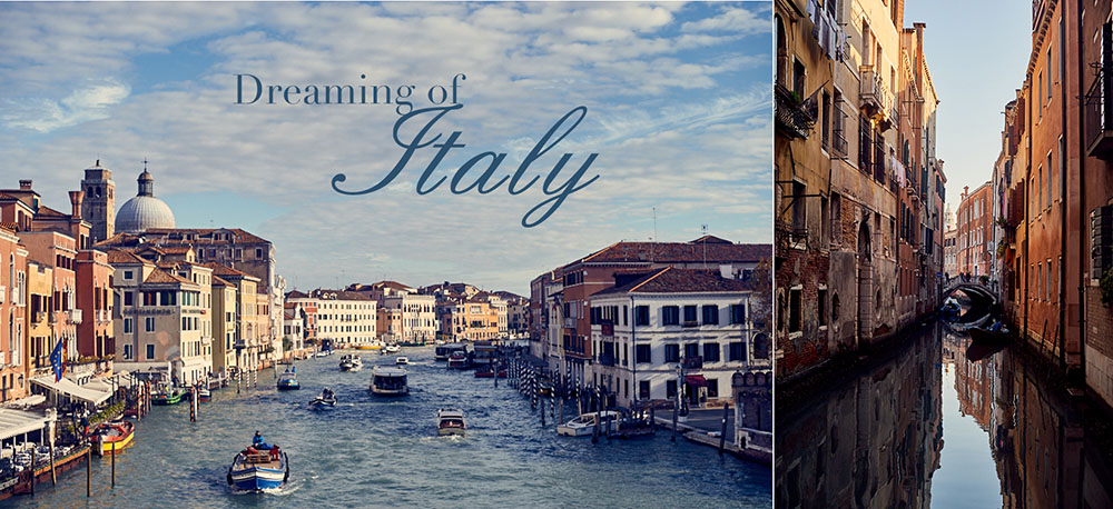 print collection bei society6 mit dem thema italien